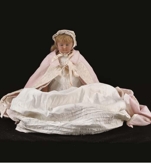 An H.J. Meech poured wax baby doll