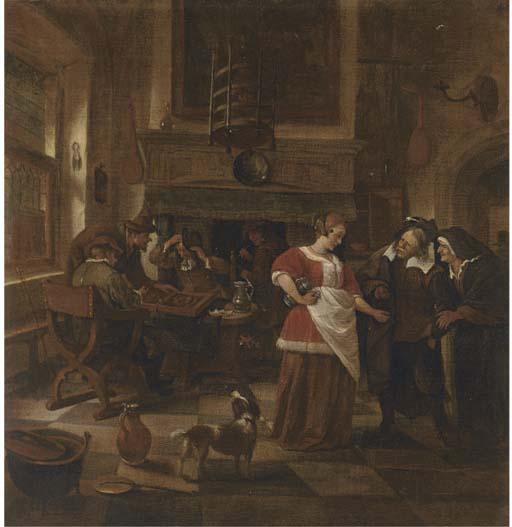 Circle of Jan Steen (Leiden 16