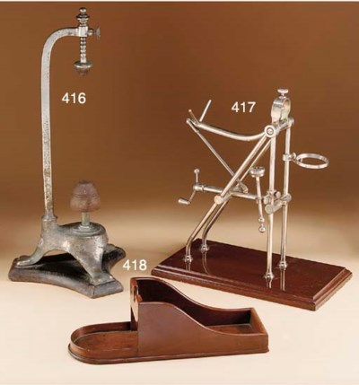A Modern silver-plated decanti
