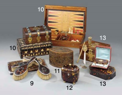 An English mahogany cased game
