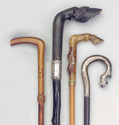 A Victorian horn and mother-of