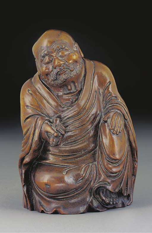A bamboo model of an immortal,th Century