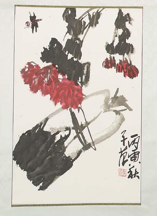 Cui Zifan (b.1915), a hanging scroll