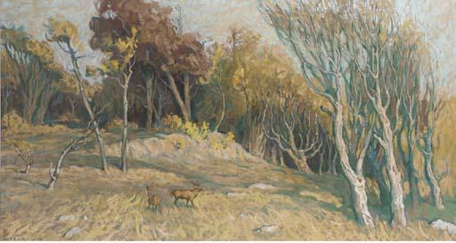 Tang Muli (b. 1947), Oil on ca