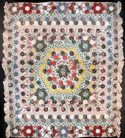 A good large patchwork coverle