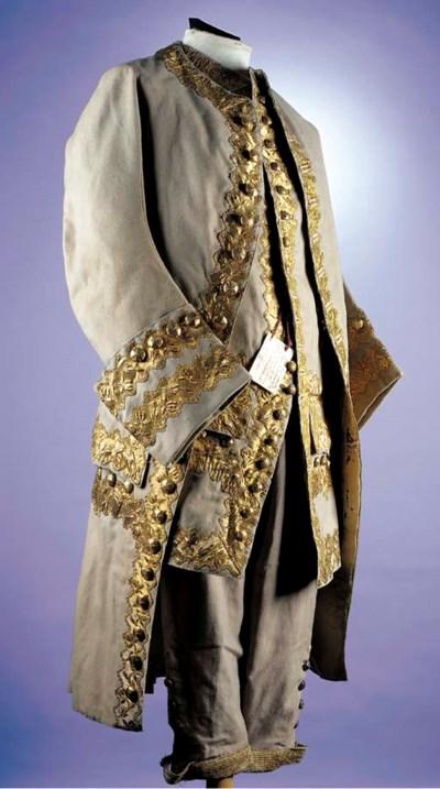A gentleman's court suit, of m