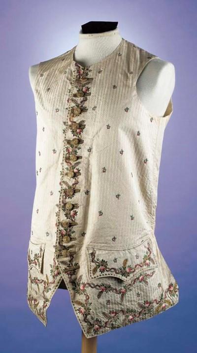 A gentleman's waistcoat, of iv