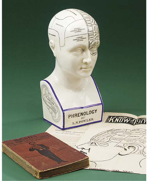 A late 19th-Century phrenology