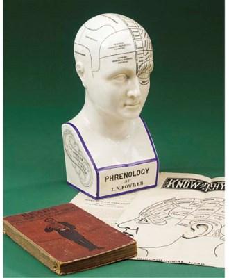 A late 19th-Century phrenology