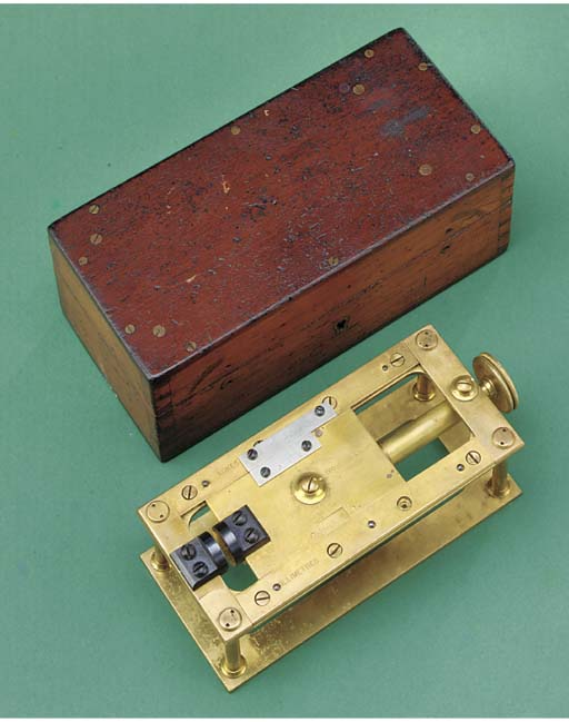 A 19th-Century brass micromete