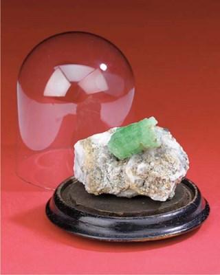 An emerald specimen,