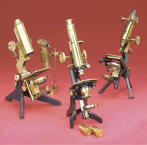 Three 19th-Century monocular m