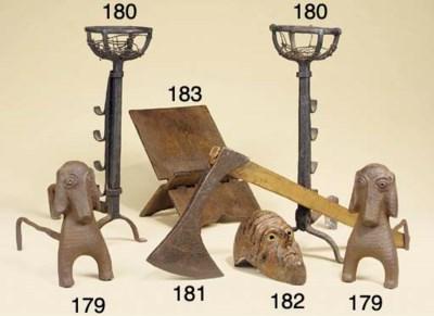 A folding oak missal stand