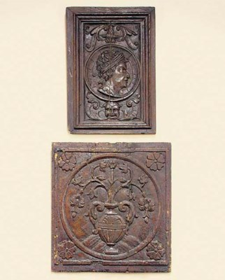 A Flemish relief carved oak Ro
