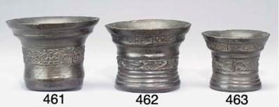 A James I bronze mortar