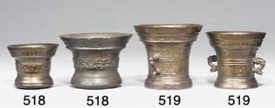 A continental bronze mortar