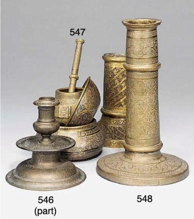 Three Cairo-ware vessels