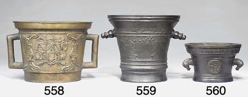 A North Italian bronze mortar