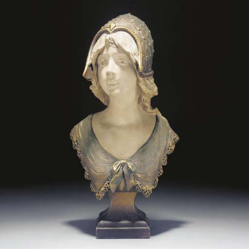 An terracotta bust