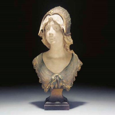 An terracotta bust
