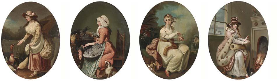 Circle of Moses Haughton (1734-1804)