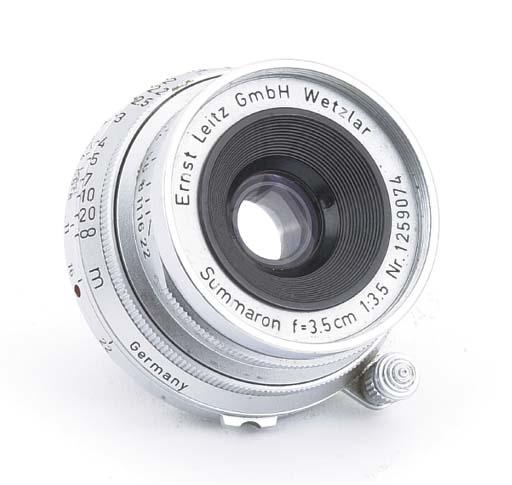 Summaron f/3.5 3.5cm. no. 1259