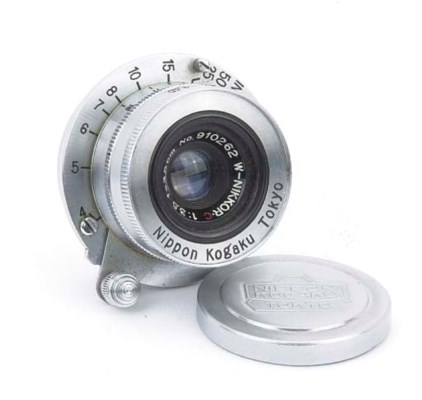 W-Nikkor.C f/3.5 3.5cm. no. 91
