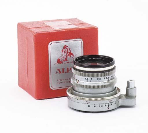 Alpa Switar AR f/1.8 50mm. no.