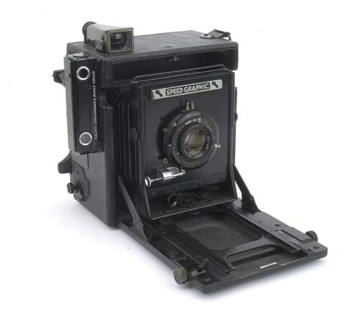 Speed Graphic camera