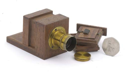 Miniature sliding box camera