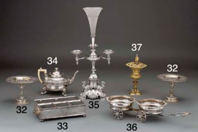 A Silver-Plated Treasury Inkst