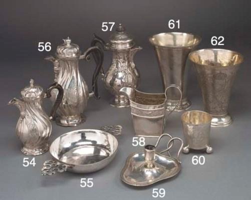 A German Silver Coffee Pot
