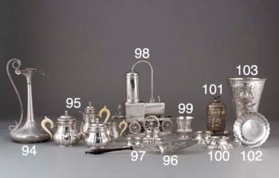 Three Various German Silver Tr