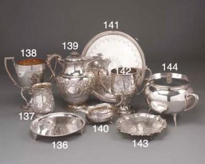 An Edwardian Scottish Silver T