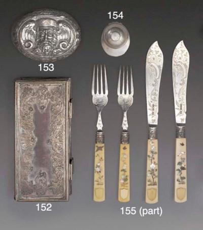 Twelve Pairs of Victorian Silv