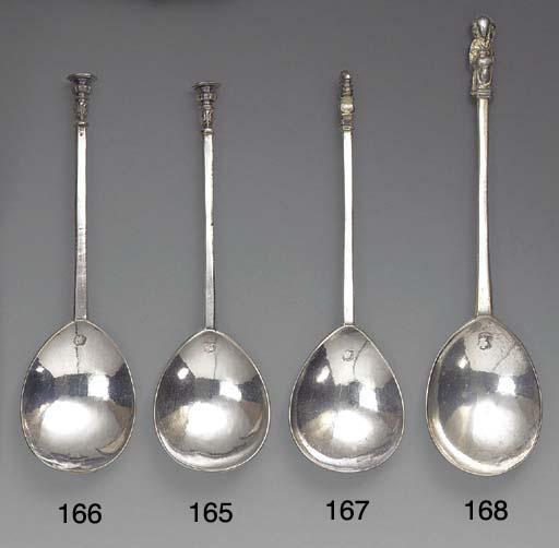 A James I Silver Seal-Top Spoo