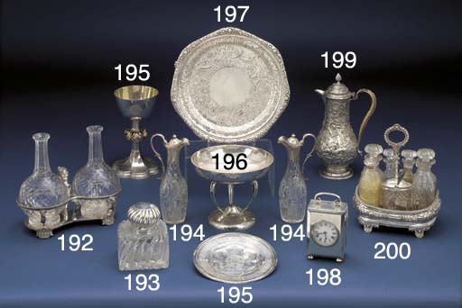An Edwardian Silver Presentati