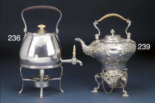 A George III Silver Kettle-on-