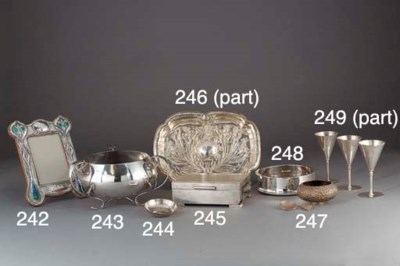 An Edwardian Silver and Enamel