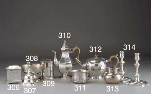 An Edwardian Silver Porringer
