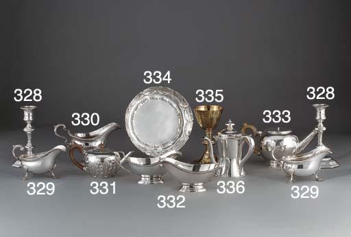 A Victorian Silver Teapot