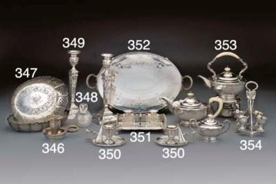 A Pair of Victorian Silver Dis