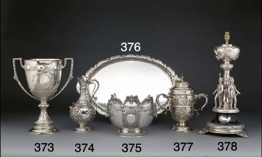 A Late Victorian Silver Trophy
