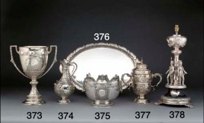 A Late Victorian Silver Milita