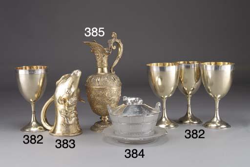 A Victorian Silver-Gilt Claret