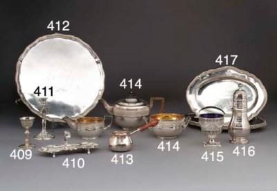 A George III Silver Sugar Bowl