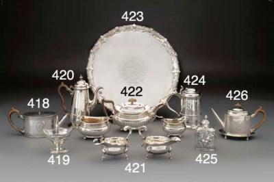 A George III Silver Tea Servic