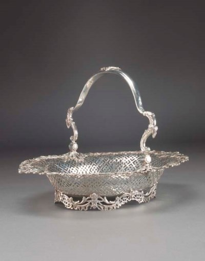 A George II Silver Basket