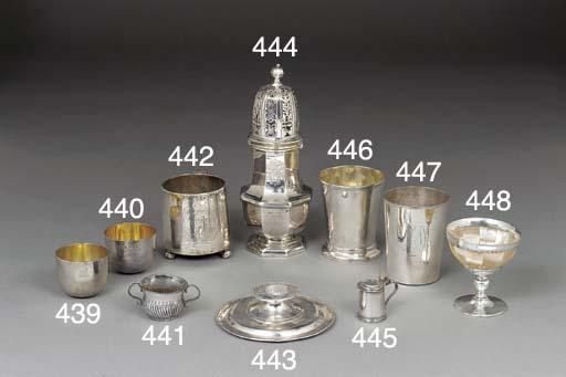 A Queen Anne Silver Toy Porrin