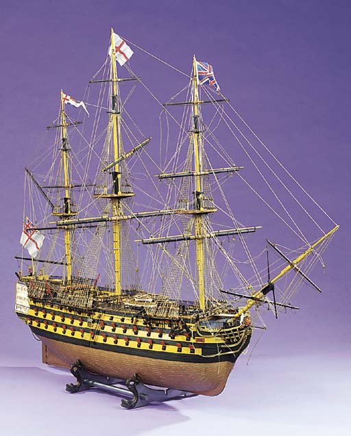 A MODEL OF H.M.S. VICTORY